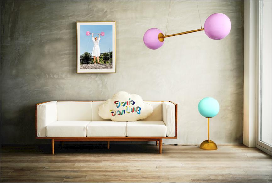 DD2 LIEB & KÜHN So bunt wie der Frühling – Knalliges Lampen-Design by Doris Darling