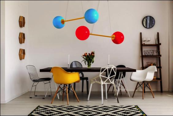 DD3 7 LIEB & KÜHN So bunt wie der Frühling – Knalliges Lampen-Design by Doris Darling