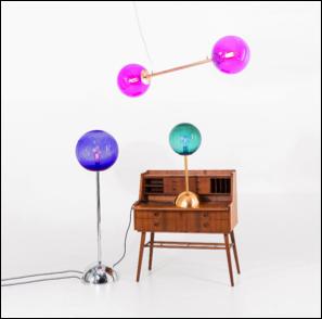 DD6 5 LIEB & KÜHN So bunt wie der Frühling – Knalliges Lampen-Design by Doris Darling