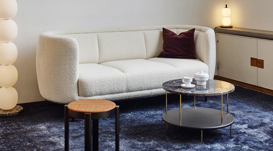 Wittmann sofa weiß rund LIEB & KÜHN #herbstimpulse                   Unsere Favoriten zum Jahreszeitenwechsel!