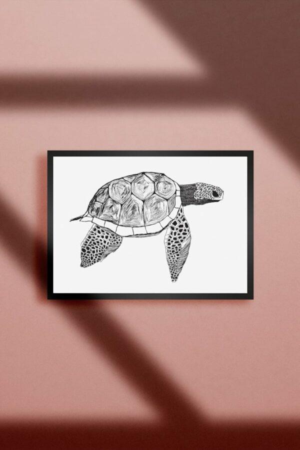 "Werjant artprint landscape Turtle LIEB & KÜHN ""Turtle"" Print"
