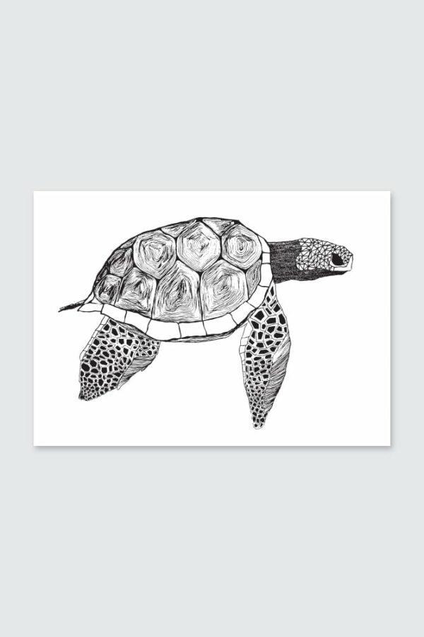 "Werjant artprint landscape turtle Kopie LIEB & KÜHN ""Turtle"" Print"