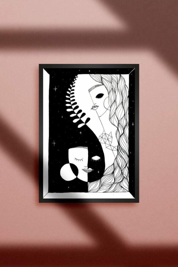 """Werjant artprint portrait honour LIEB & KÜHN """"Honour"""" Print"""