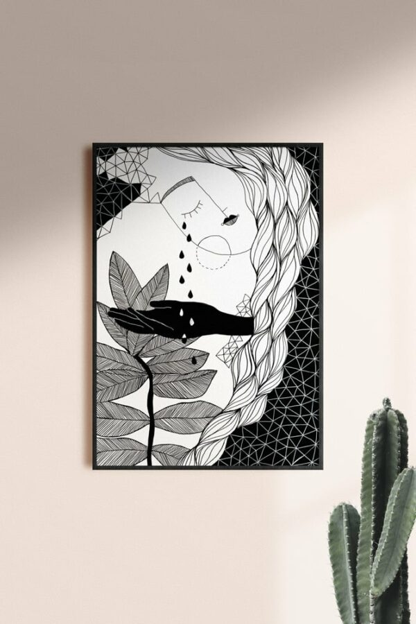 "Werjant artprint portrait mockup purity LIEB & KÜHN ""Purity"" Print"