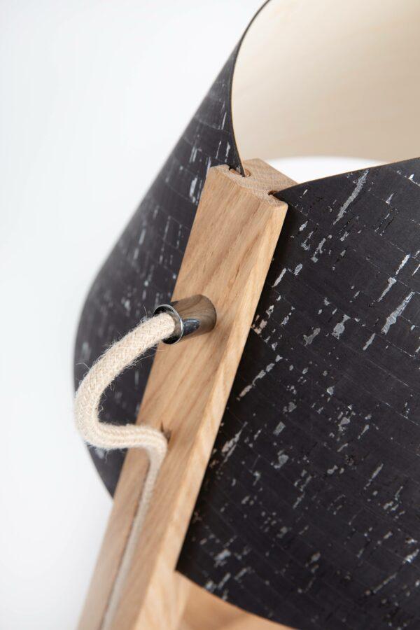 1411 Tischleuchte e27 Details 42 scaled LIEB & KÜHN Tischlampe 1411 konisch aus Eiche