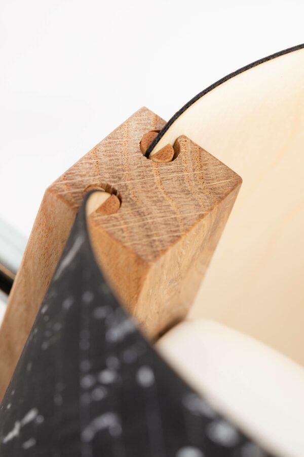1411 Tischleuchte e27 Details 46 scaled LIEB & KÜHN Tischlampe 1411 konisch aus Eiche