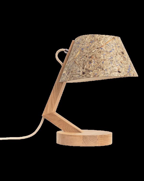Designleuchte Eichenholz Naturmaterial Almwiese konisch Tischleuchte 1411 ALMUT 1600x2000 8 LIEB & KÜHN Tischlampe 1411 konisch aus Eiche