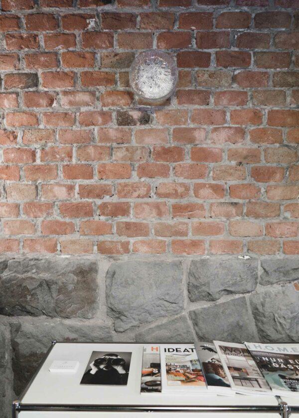 Vintage Leuchte 2.4 LIEB & KÜHN Vintage Wand- Deckenleuchte aus Glas